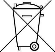 Die Mülltonne bedeutet: Batterien und Akkus dürfen nicht in den Hausmüll.