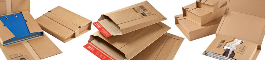 Buchverpackungen / Versandtaschen