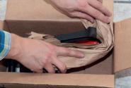Crumpy Packpapier braun, 50 cm Breit 100g/m²