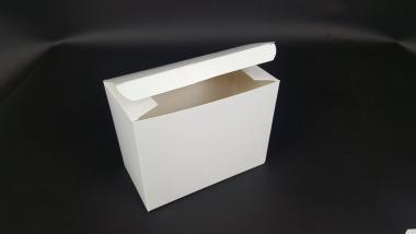170 x 90 x 130 mm Faltkiste mit Automatikboden & Steckdeckel weiß