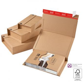 251 x 165 x - 60 mm - Versandverpackung zum Wickeln CP 020.04