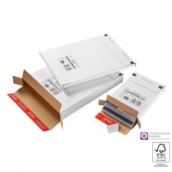 139 x 216 x 29 mm - Versandbox weiß CP 065.52