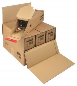 375 x 365 x -250 mm - Umkarton für Flaschenversandverpackung CP 181.006