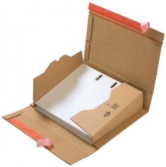 320 × 290 × 35/80 mm, Ordner-Versandverpackung