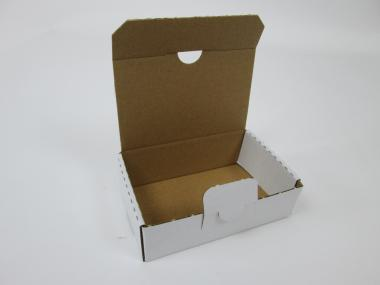114 × 70 × 34 mm, Wellpapp-Klappdeckelschachtel