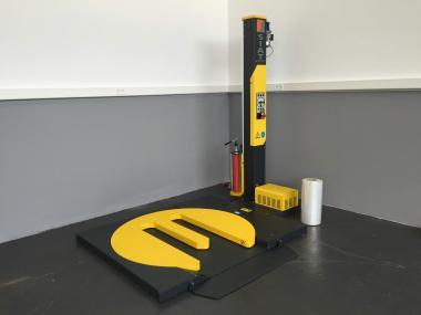 Automatische Stretchanlage Modell HSD-1-M
