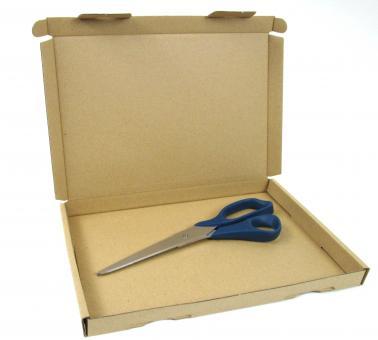 """230 × 160 × 17 mm, Wellpapp-Klappdeckelverpackung """"Großbrief"""""""
