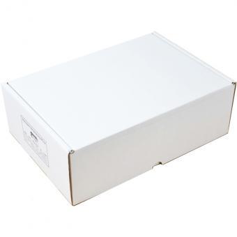 350 x 250 x 120 mm - Klappdeckelschachtel weiß