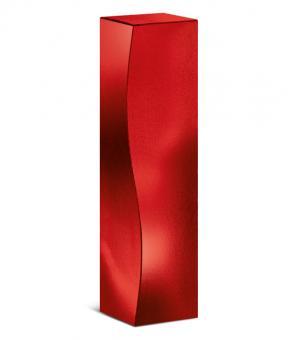 """1er Präsentkarton/Faltschachtel """"Skulptur Rot Metallic"""""""