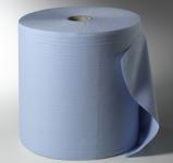Putzpapierrolle 3-lagig blau